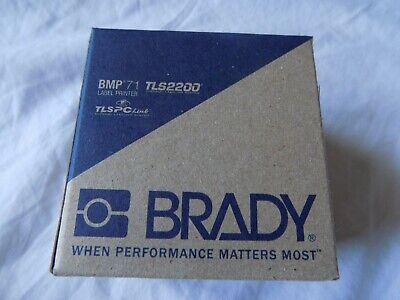 Brady Tls2200 Thermal Printer Labels Pspt-094-1-wt Marking Sleeve