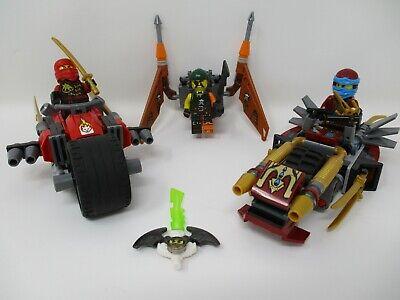 LEGO (70600) Ninjago Ninja Bike Chase --Complete-- Nice set!