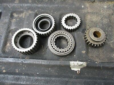 1977 Allis Chalmers 7000 Diesel Farm Tractor Transmission Gears Free Ship