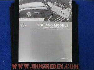 2017 Harley touring service manual road king street glide electra flht  flhx flh