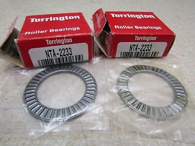 Nta-2233 Lot Of 2 Needle Roller Bearing