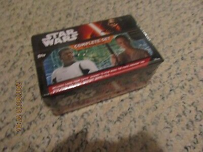 2 SETS  2016 TOPPS STAR WARS FORCE AWAKENS FACTORY 310 CARDS FACTORY SEALED