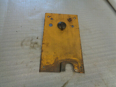 John Deere 1010 Crawler Dozer. Panel Cowl Support Rear.  Key Light Swithes