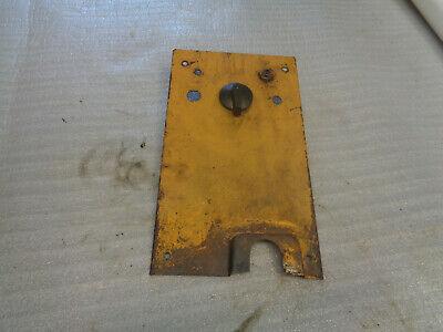 John Deere 1010 Crawler Dozer. Panel Cowl Support Rear.  Key Light Swithes