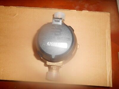 Badger Model 35 Water Meter 34 X 34 Us Gallon With Meter Couplings Lead Free