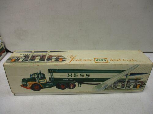 1984 Hess Tanker Truck in 1968 Hess truck box