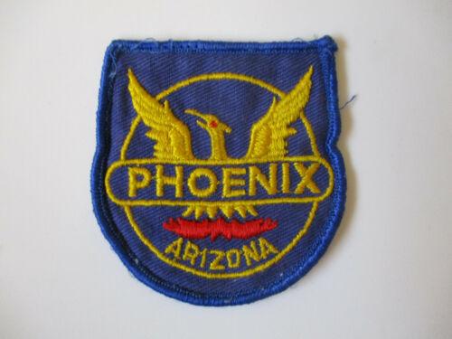 vintage 1970s Phoenix Arizona AZPD USA made Twill Gauze Back Police Patch