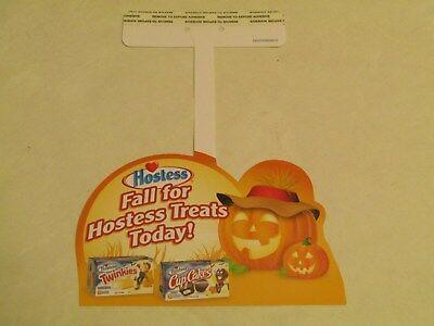 Hostess  Interstate Brands  Halloween Holiday Shelf Talker Hanger