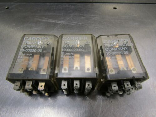 Carrier Transicold 10-00220-00 Relay Lot of 3!