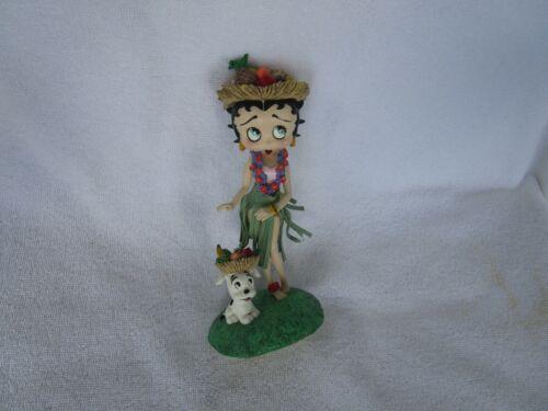 LOVELY~~Vintage Betty Boop Hawaiian Holiday Figurine~~ Danbury Mint!!