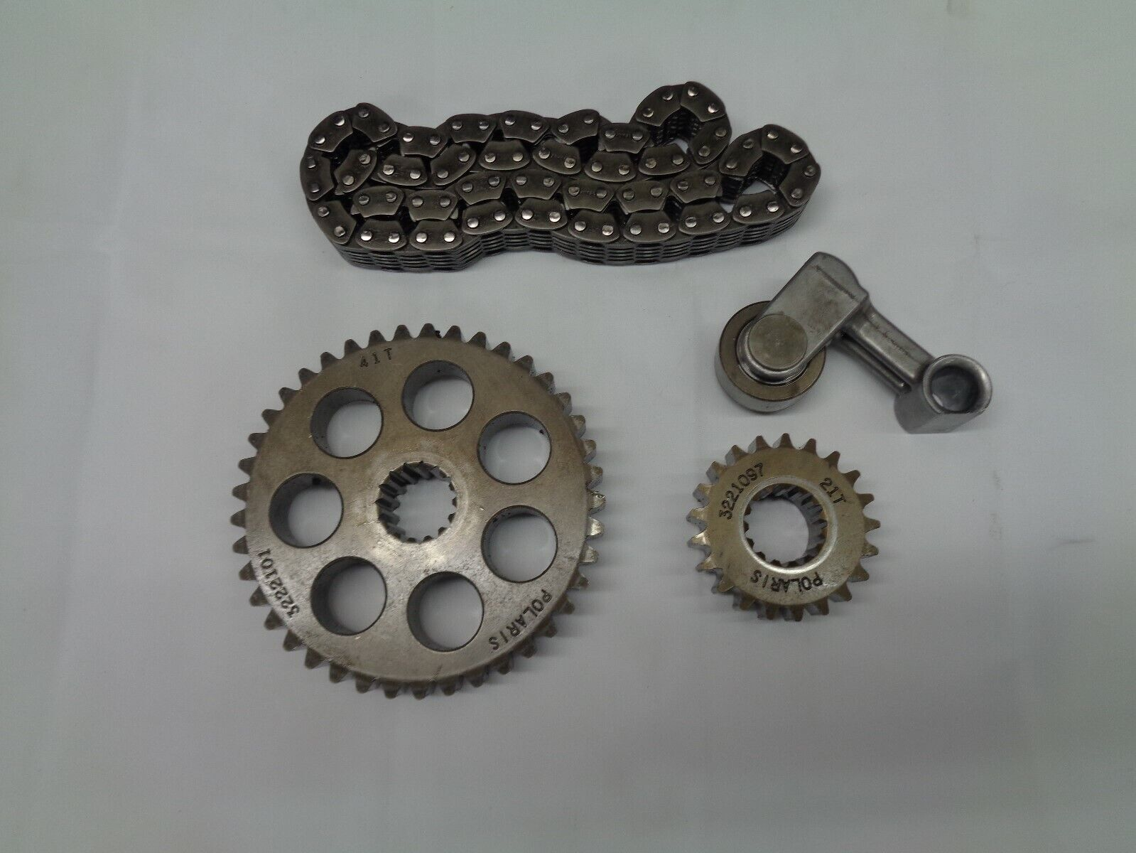 2002-2005 polaris RMK EDGE 800 gears 21T 41 and chain  3221109  3222101  3221097