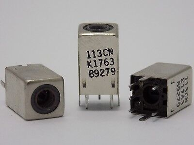 5x 113cns K1763hm Adjustable Coil Variable Inductor Shielded Fm Filter - 113cn