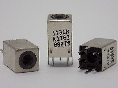 5x 113cns K1763hm Adjustable Coil Variable Inductor Shielded Fm Filter - 113cn
