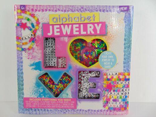 Alphabet Jewelry DIY Make Your Own Jewelry Kids Craft Science Creation NEW
