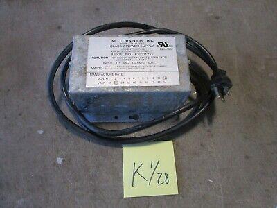 Used Imi Cornelius Class 2 Soda Fountain Power Supply 630001233 115v To 24vac B