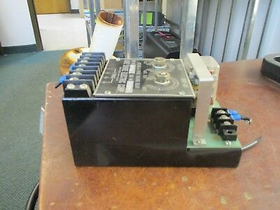 Lake Shore Electric Voltage & Phase Failure Relay 06311 1Ph 0-480V Used