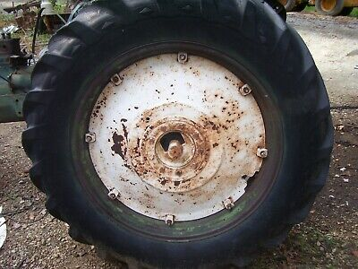 Vintage Oliver Super 77 - 88 Tractor - Rear Wheel Tire -14.9 X 38