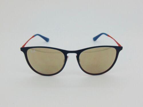 New Ray Ban Jr. RJ 9538S 253/5A Erika Green/Red-Gold Mirror Kids Sunglasses