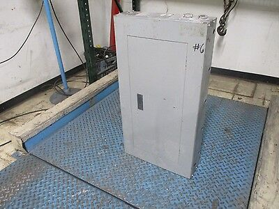 Siemens Main Lug Circuit Breaker Panel I1x30mc250a 30-slot 208y120v 3ph 4w Used