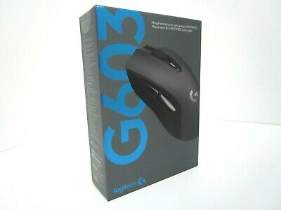 New Sealed - Logitech G603 LIGHTSPEED Wireless Gaming Mouse - Black