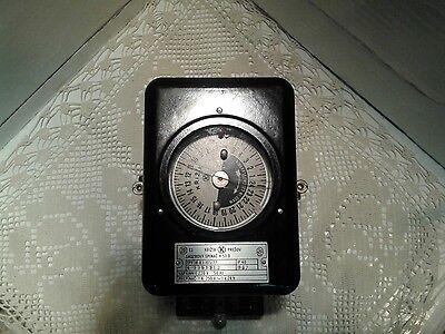 Vintage Electric Meter-szechoslovakia