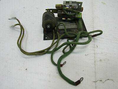 Old Vintage Mercoid Relay W Mercury Switch Tilt Switch Part