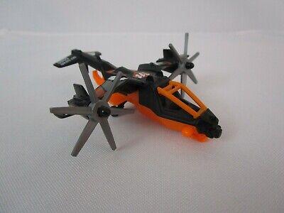 Mattel Matchbox Sky Busters Airplane Sky Safari 5000 Black Plane 2012