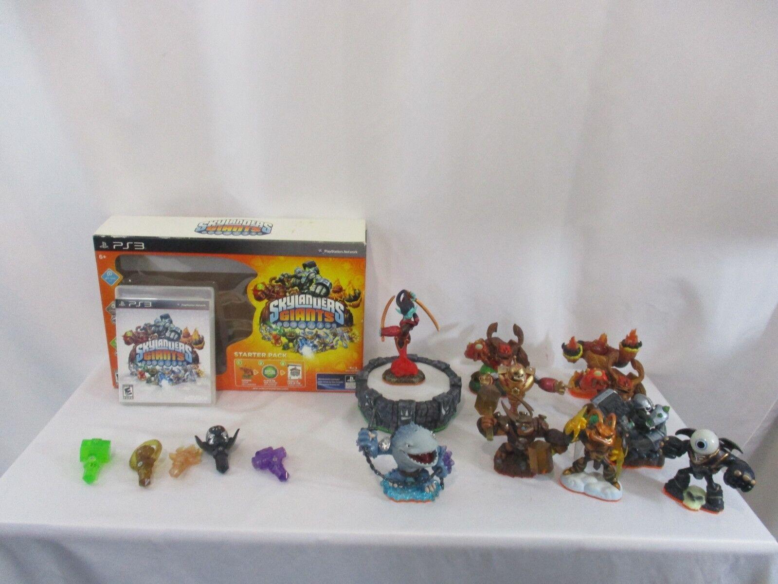 Skylanders Giants Starter Pack & 10 Figurines for Playstation 3