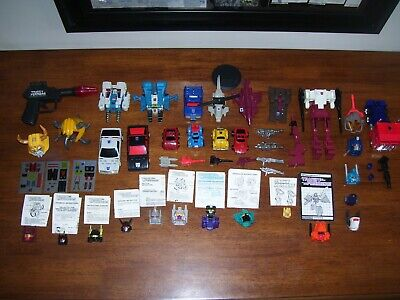 Transformers G1 Misc Lot Loose