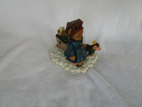 """Berry Hill Bears Figurine """"The Burden Is LIGHT""""  Young Inc. 1999"""