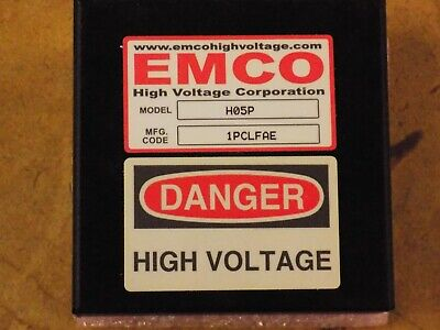 Emco H05p 500v 15w Proportional High Voltage Power Supply
