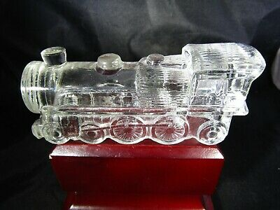 Vintage Victory Glass Jeannette PA Miniature Train Engine Toy Candy Container ~5 for sale  Suffolk