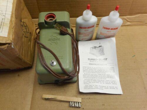 Vintage turbo-blast  Shop Spark Plug Cleaner With Gap Gauge complete