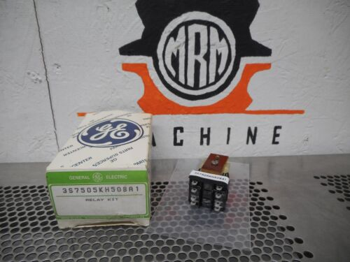 General Electric 3S7505KH508A1 Relay Kit 1/4HP 120VAC 10A 240VAC New In Box