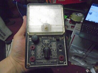 Vintage Electronic Measurements Corp Emc Model 102 Vom
