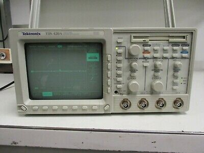 Tektronix Tds 420a Four Channel Digitizing Oscilloscope
