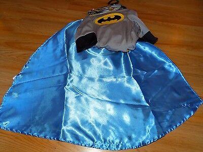 Size Large Rubie's Batman Pet Dog Halloween Costume Shirt w Cape & Headpiece - Dog Batman Cape