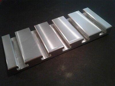 Sacrificial Aluminum T-slot Plate T-slotted Fixture Table - 4 X 10 X 1