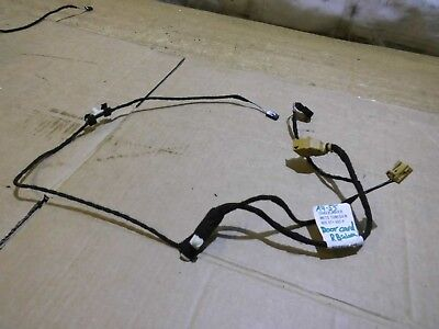 AUDI A4 B7 REAR RIGHT DOOR CARD WIRING LOOM DRIVER SIDE OSR 8E0971693P 2005 >
