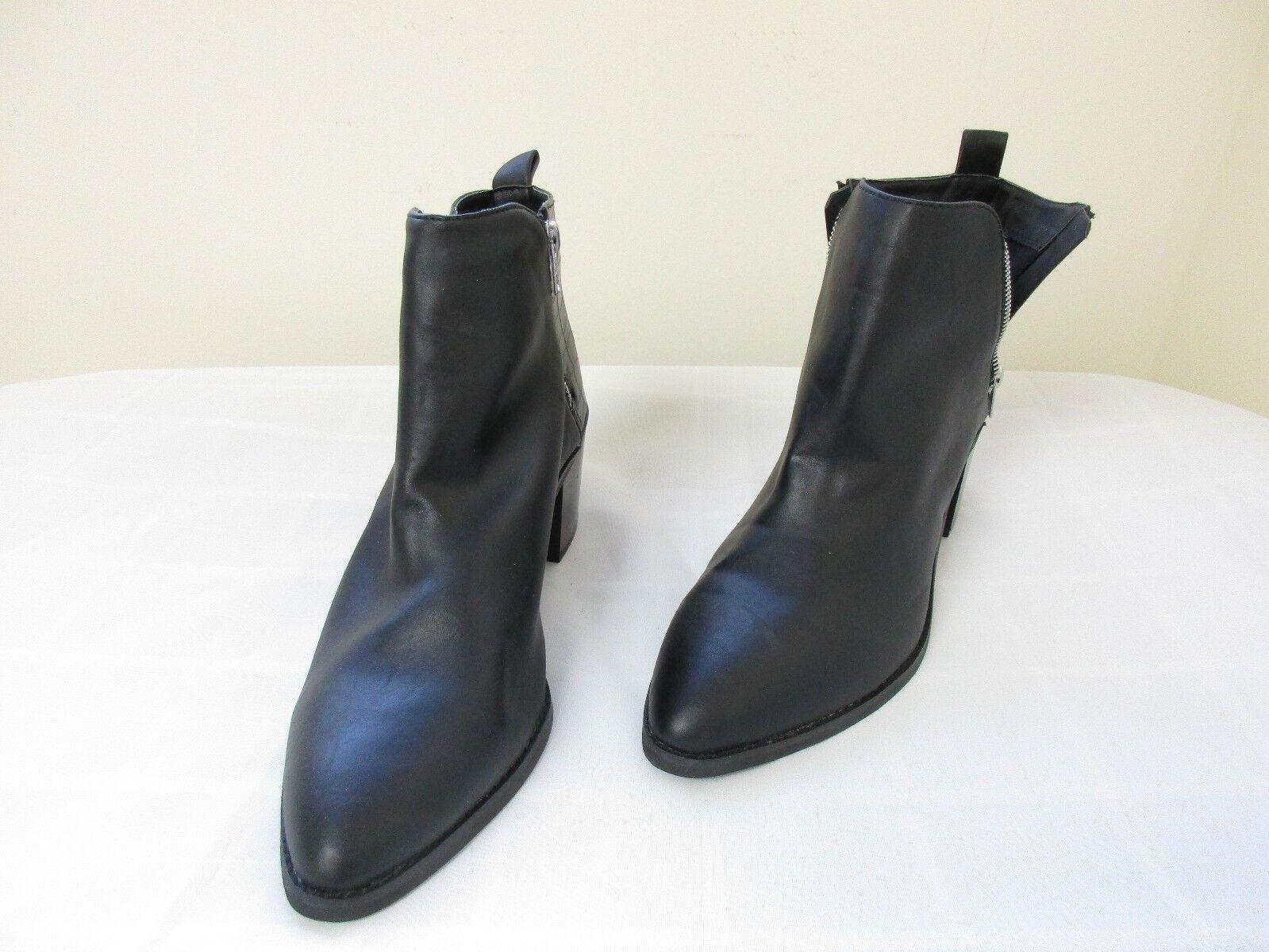 NEW Women's Bongo London Fashion Ankle Boots Side Zipper Med