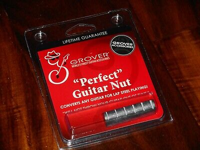 Grover Perfect Raised Nut GP1103, Converts Most Guitars For Lap Steel Or Dobro