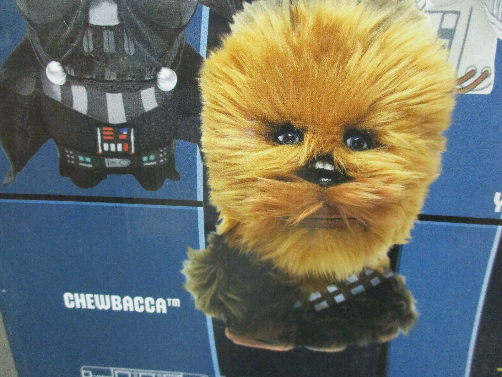 Star Wars Deluxe Talking Plush Chewbacca Underground Toys 2012 New In Box