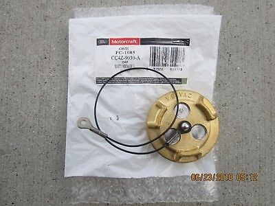12-17 FORD F650 F-650 F750 F-750 FUEL DIESEL TANK FILLER CAP WITH TETHER OEM NEW