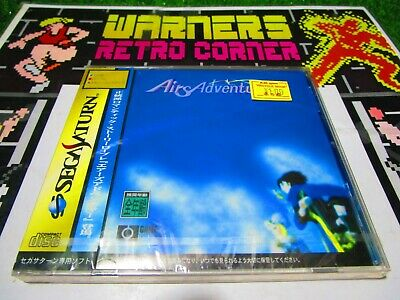 Airs Aventura Sega Saturn Victor Juego Importado Japón Ntcs J Jap