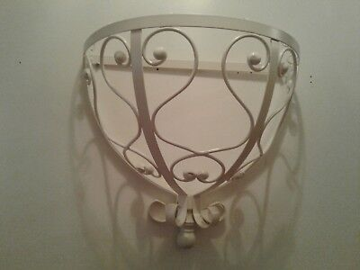 """Bombay Kids White Metal Wall Over the Bed Canopy Wall Hanging 18"""" X 16""""X 10"""""""