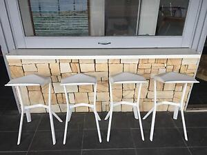 OUTDOOR BAR STOOLS X 4 Merewether Newcastle Area Preview