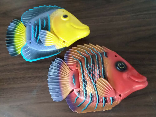 Animated Fish Plastic/Rubber  Wall Decor Display Hanging