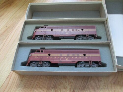 American Models PRR FP-7AA powered diesels SCALE DC (11/8/20)