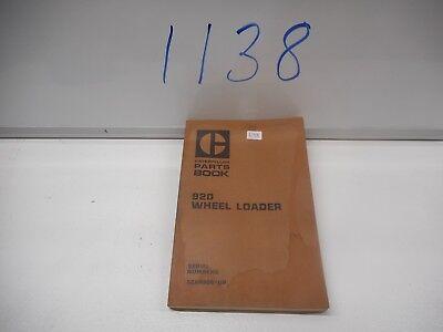 Caterpillar 920 Wheel Loader Parts Book 62k4606-up Feb 1975 Form Ueg0693s
