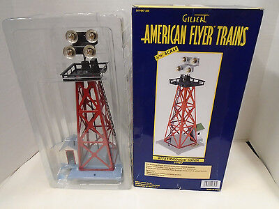 AMERICAN FLYER #6-49847 S GAUGE 774 FLOODLIGHT TOWER NEW IN BOX